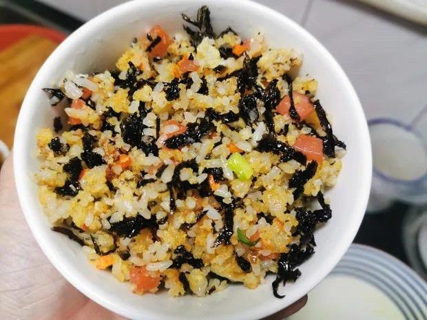 自己动手系列:紫菜炒饭