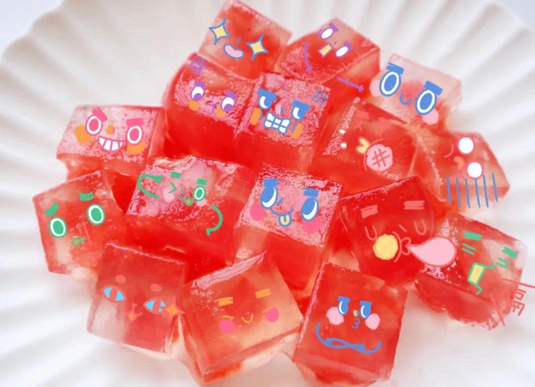 自己动手系列:水晶西瓜果冻